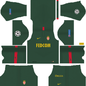 AS Monaco FC UCL Away Kit