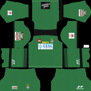ATK Kolkata Goalkeeper Home Kit 2019