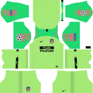 Atletico Madrid UCL Goalkeeper Away Kit