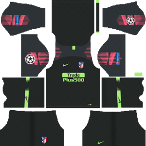 Atletico Madrid UCL Goalkeeper Home Kit