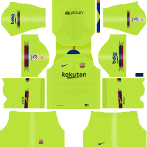 Barcelona Dls Away kit 2019