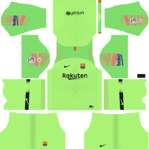 Barcelona Gk Home kit 2019