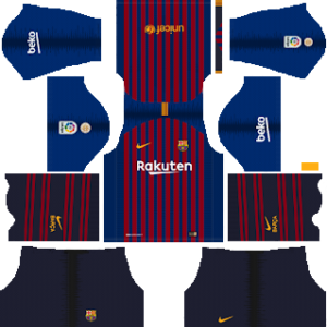 Barcelona Kits 2018/2019 Dream League Soccer