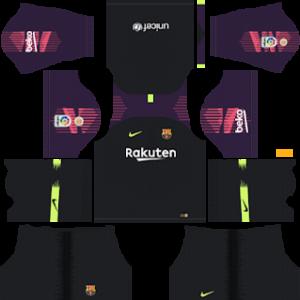 Barcelona gk away kit 2019