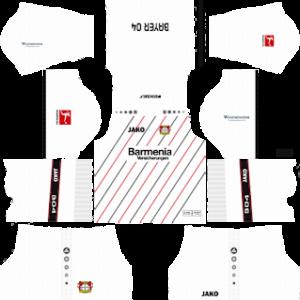 Bayer Leverkusen Away Kit 2019