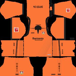 Bayer Leverkusen Goalkeeper Home Kit 2019