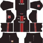 Bayer Leverkusen Kits 2018/2019 Dream League Soccer