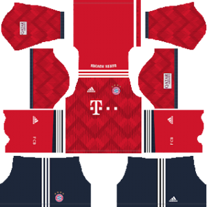 Bayern Munich Kits 2018/2019 Dream League Soccer