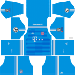 Bayern Munich UCL Goalkeeper Away Kit
