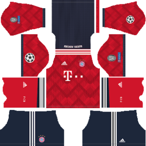 Bayern Munich UCL Home Kit