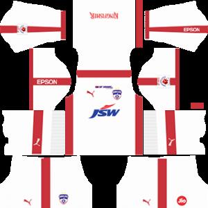 Bengaluru FC Away Kit 2019