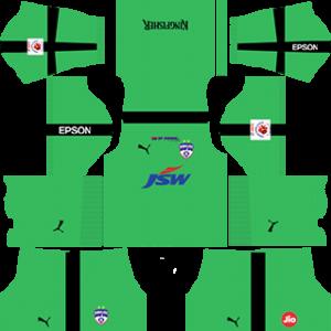 Bengaluru FC Goalkeeper Away Kit 2019