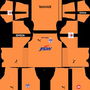 Bengaluru FC Goalkeeper Home Kit 2019