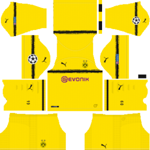 Borussia Dortmund UCL International Kit