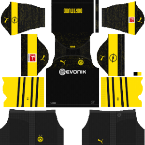 Borussia Dortmund Away Kit 2019