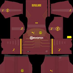 Borussia Dortmund Third Kit 2019