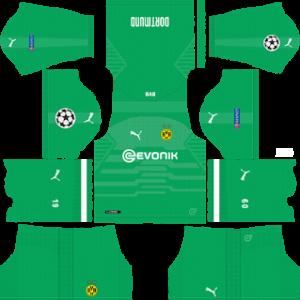 Borussia Dortmund UCL Goalkeeper Home Kit