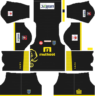 Kerala Blasters Away Kit 2019