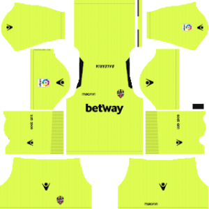 Levante UD Goalkeeper Away Kit 2019