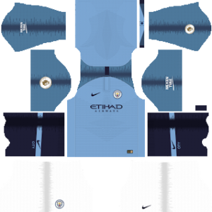 Manchester City Kits 2018-2019 Dream League Soccer