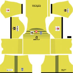 Mumbai City Goalkeeper Away Kit 2019