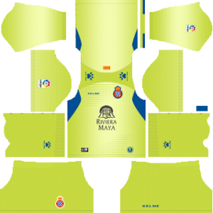 RCD Espanyol Goalkeeper Away Kit 2019