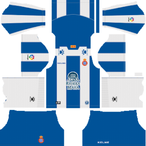 RCD Espanyol Kits 2018/2019 Dream Leagues Soccer