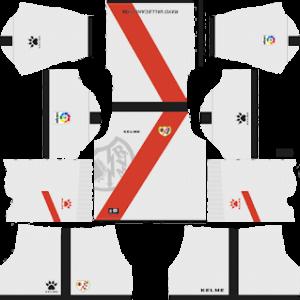 Rayo Vallecano Kits 2018/2019 Dream League Soccer