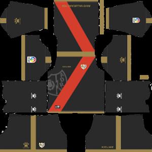 Rayo Vallecano Away Kit 2019