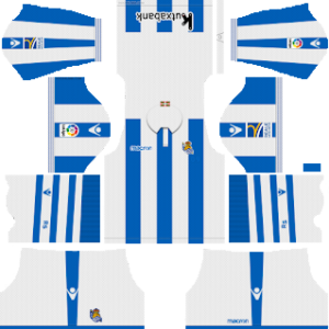 Real Sociedad Kits 2018/2019 Dream League Soccer