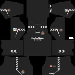 Real Valladolid Goalkeeper Away Kit 2019