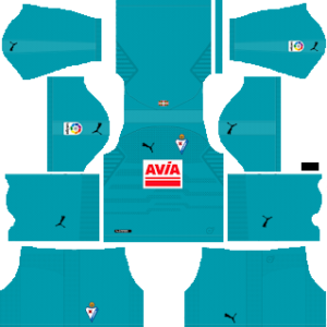 SD Eibar Goalkeeper Away Kit 2019