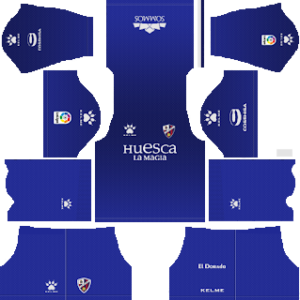 SD Huesca Goalkeeper Away Kit 2019