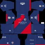 SD Huesca Kits 2018/2019 Dream League Soccer