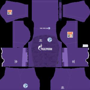 Schalke 04 Goalkeeper Away Kit 2019