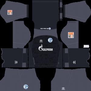 Schalke 04 Goalkeeper Home Kit 2019