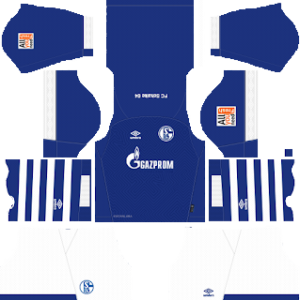 Schalke 04 Kits 2018/2019 Dream League Soccer