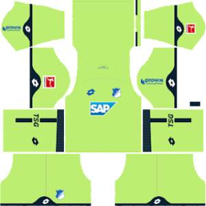 TSG Hoffenheim Goalkeeper Home Kit 2019