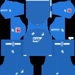 TSG Hoffenheim Kits 2018/2019 Dream League Soccer
