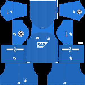 TSG Hoffenheim UCL Home Kit