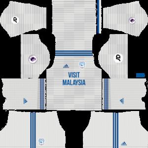 Cardiff City Away Kit 2019