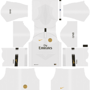 Paris Saint-GermainAway Kit 2019