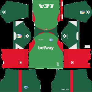 Deportivo Alaves Away Kit 2019