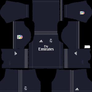 Real Madrid Away Kit 2019