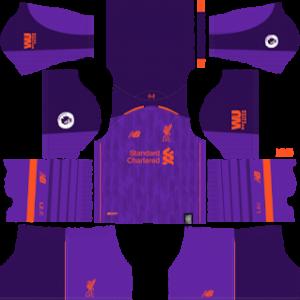 Liverpool Away Kit 2019