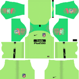 Atletico Madrid Goalkeeper Away Kit 2019