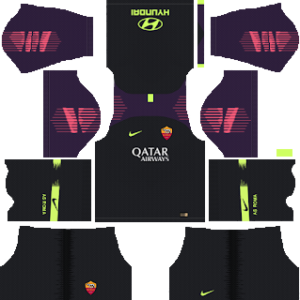 AS Roma Goalkeeper Away Kit 2019