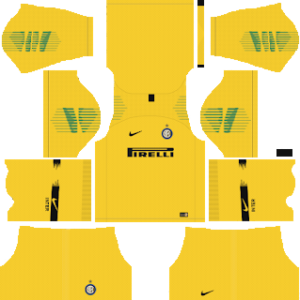 Inter Milan Goalkeeper Away Kit 2019