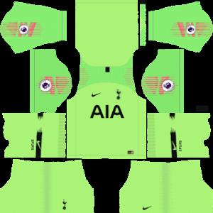 Tottenham Hotspur Goalkeeper Away Kit 2019