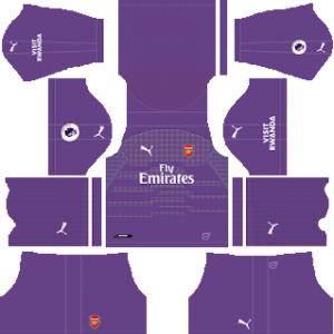 Arsenal Goalkeeper Away Kit 2019